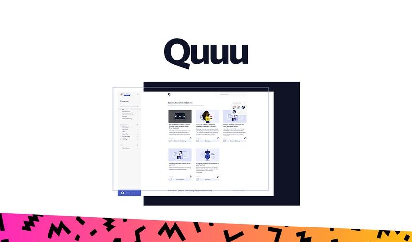 Quuu - Black Friday 2019